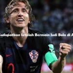 Kesuksesan Kudapatkan Setelah Bermain Judi Bola di Agen Sbobet
